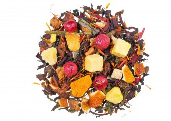 Pfirsich - Früchte - Eistee