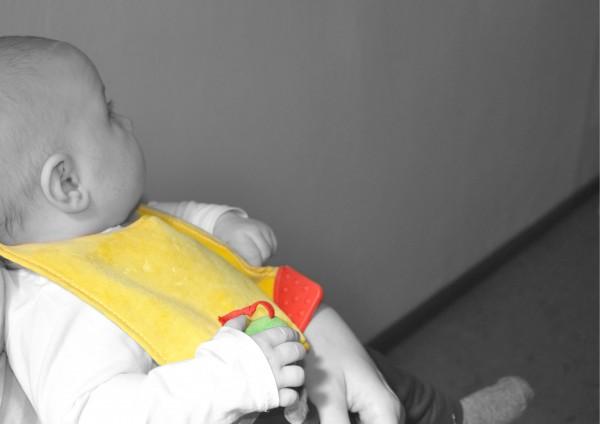 Kleine Raupe - Babylätzchen