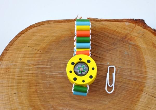 Armband Kompass für Kinder - verschiedene Farben
