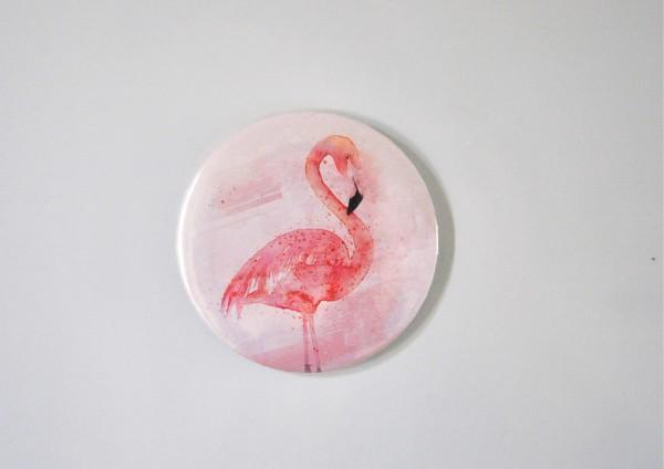 Flamingo - Ø 5,6 cm - Magnet