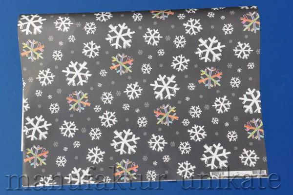 Schneeflocke - Geschenkpapier