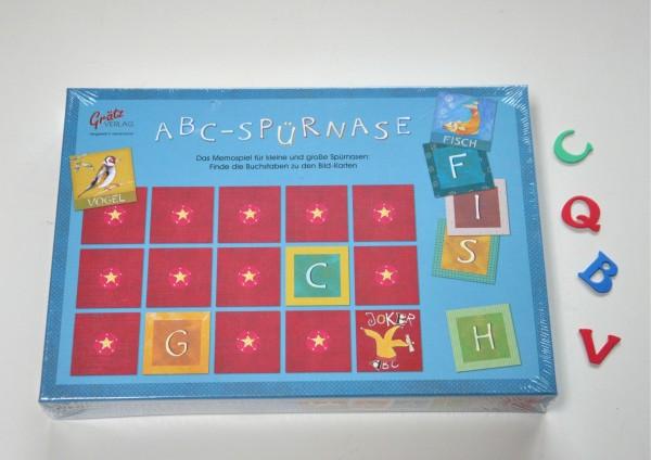 ABC Lernspiel - Memospiel