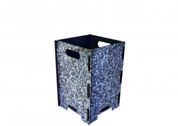 Waschbeton - Papierkorb