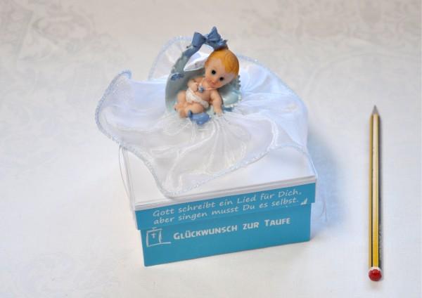 Zur Taufe Junge - Geschenkschachtel