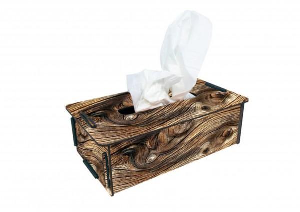 Holz - TaschentuchBox