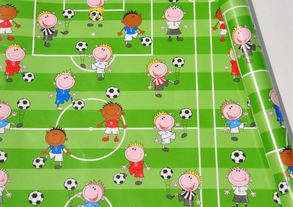 Fußballfeld - Geschenkpapier