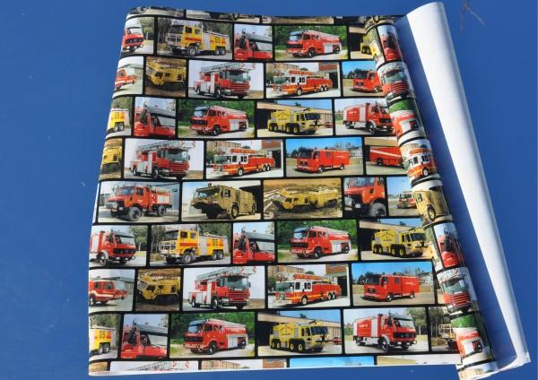 Feuerwehrautos - Bucheinschlagpapier