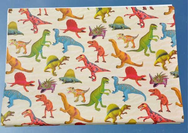 Dinosaurier - Geschenkpapier