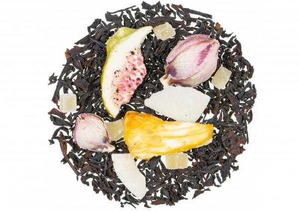 Indian Ocean natürlich / Kokos Feige Geschmack - Schwarztee