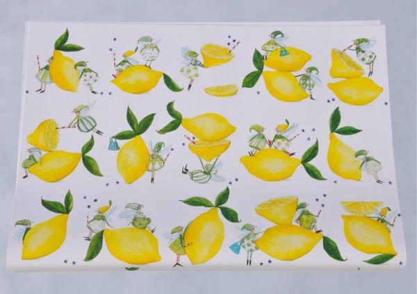 Zitronenfee - Geschenkpapier
