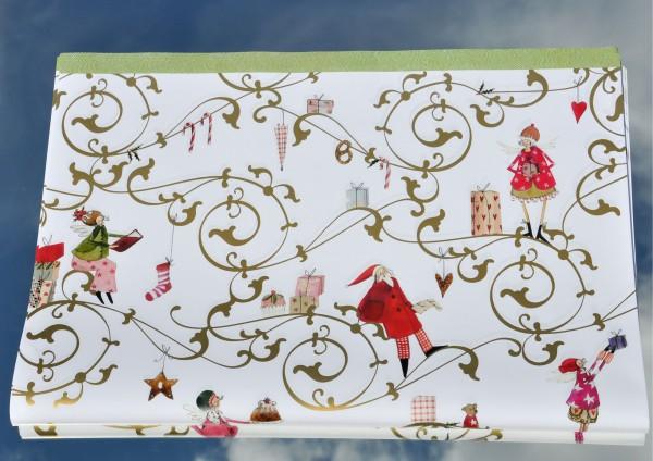 Weihnachtsranke- Geschenkpapier