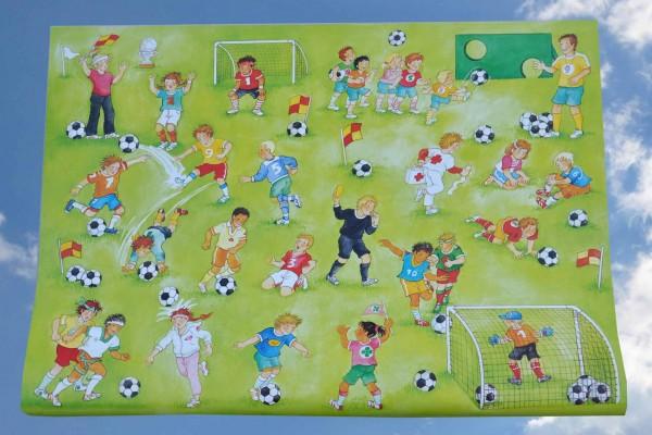 Fußball - Geschenkpapier