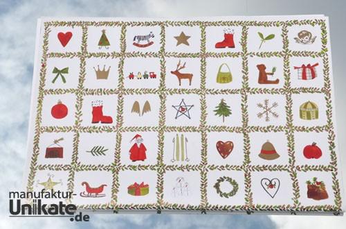 Weihnachtsmemo - Geschenkpapier