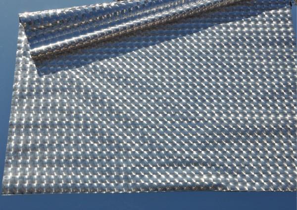 SILBER metallic glänzend - Geschenkpapier auch als Schrankpapier