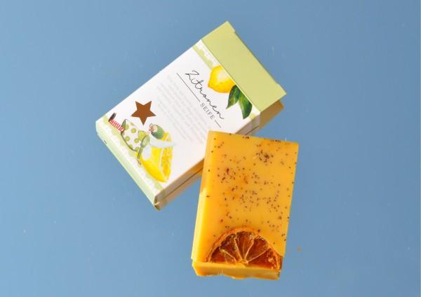 Zitrone - Seife aus Schafmilch