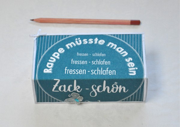 Zack, schön - Geschenkschachtel