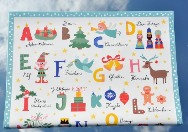 Weihnachts ABC - Geschenkpapier