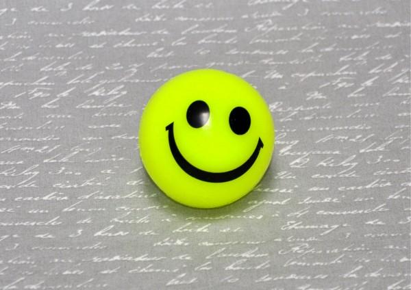 Smiley-Flummi Leuchtgesicht - verschiedene Farben