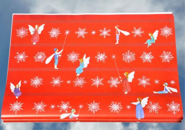 Weihnachtselfen - Geschenkpapier