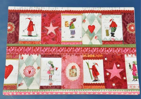 Weihnachtsschätze - Geschenkpapier