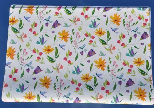 Blütenpoesie - Geschenkpapier