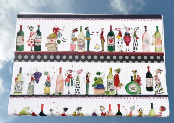 Wein - Geschenkpapier