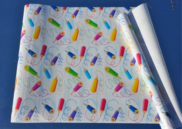 Buntstifte - Bucheinschlagpapier