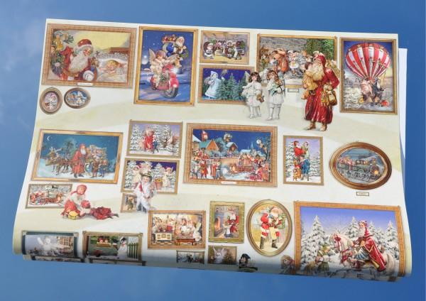 Weihnachtsbilder - Geschenkpapier