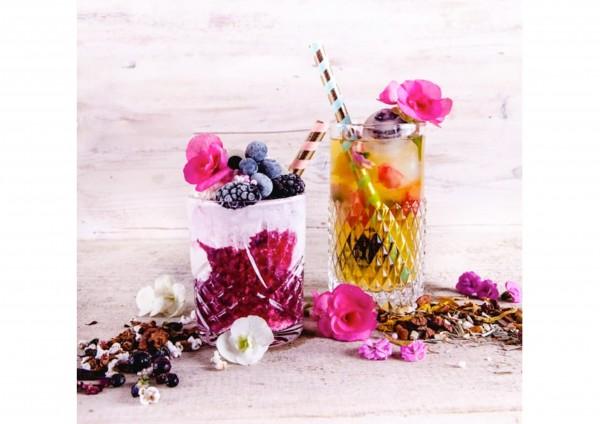 Rezept - Schwebendes Eis oder Eistee
