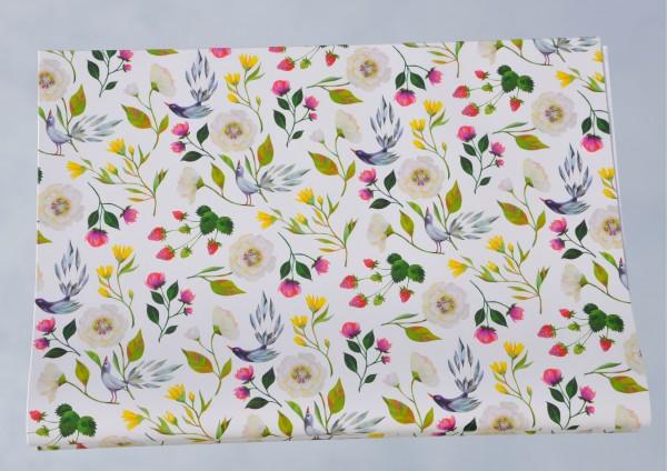 Sommergarten / Blütenpracht - Geschenkpapier