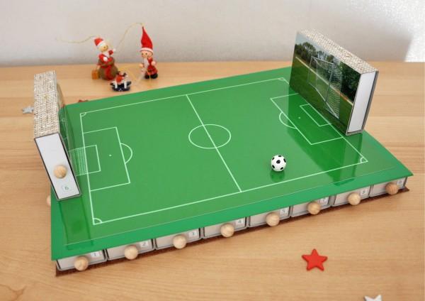 Fußball - Adventskalender zum selbst befüllen