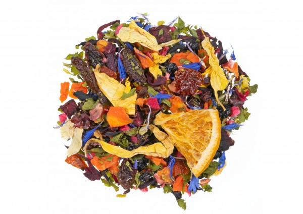 Fest der Farben - Früchtetee / Holunderbeere Yuzu Geschmack