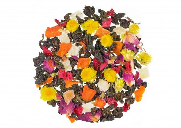 Blumentempel naütlich / Lychee Geschmack - Oolong Tee