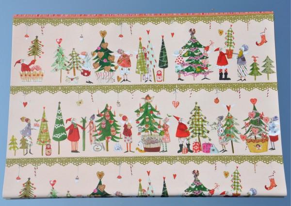 Weihnachtsfest - Geschenkpapier