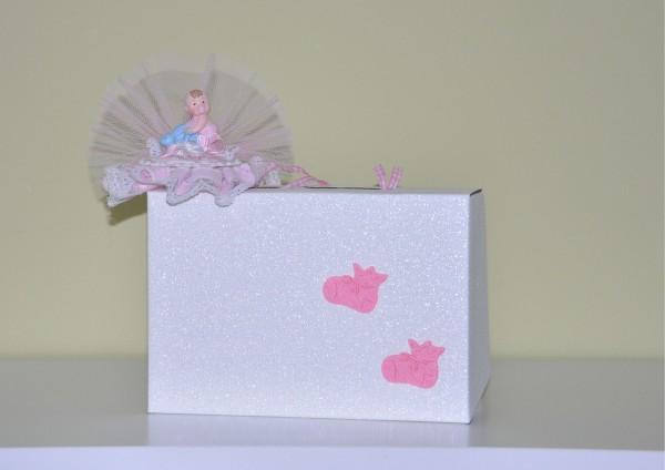 Zur Geburt oder Taufe Mädchen - Geschenk Koffer