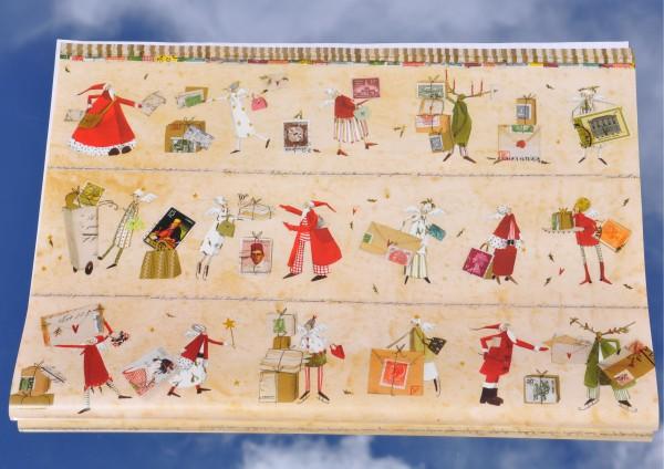 Weihnachtspost - Geschenkpapier