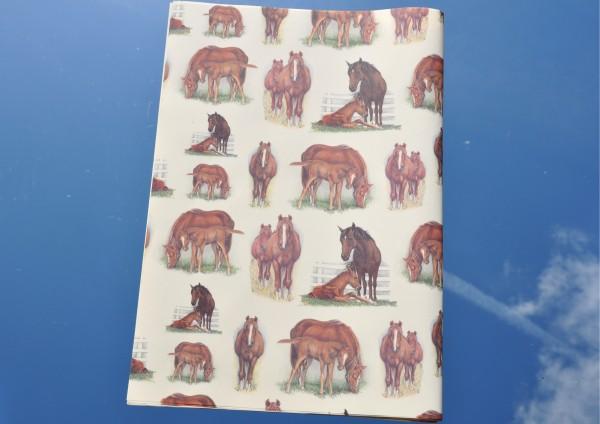 Pferde - Geschenkpapier