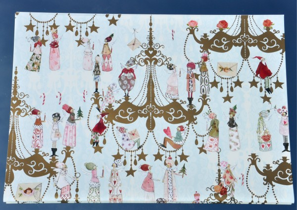 Leuchtendes Fest - Geschenkpapier