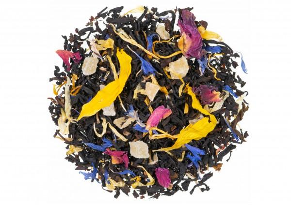 Sonnenblüten® / Tropische Früchte Geschmack - Schwarztee