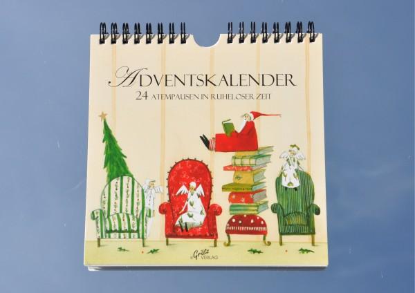Atempausen in ruheloser Zeit - Adventskalender mit Zitaten