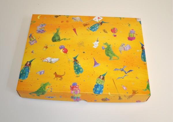 Zauberer Merlin - Geschenkschachtel mit Deckel