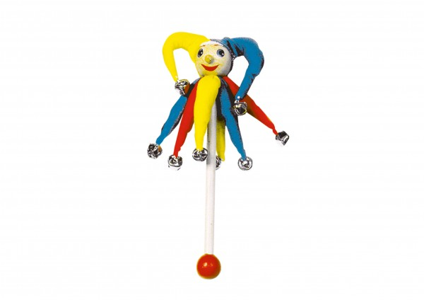 Schellenstab klein - Clown
