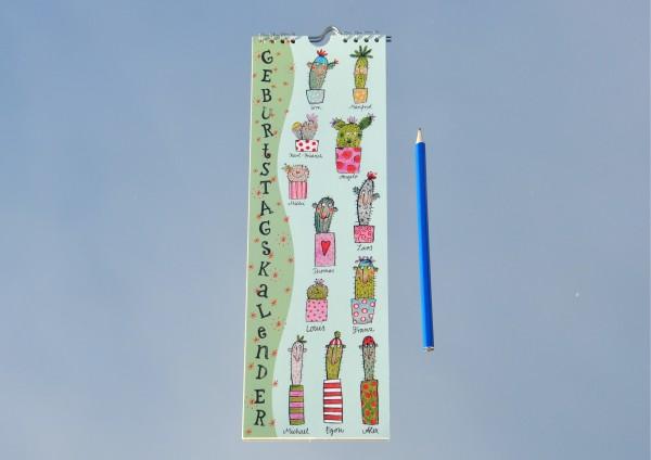 Stachelige Typen - Geburtstagskalender