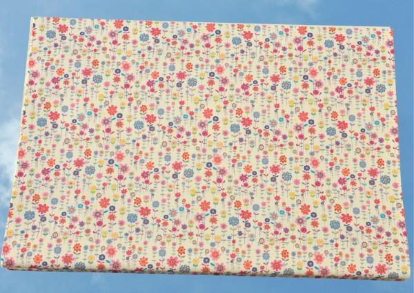 Blumenwiese - Geschenkpapier