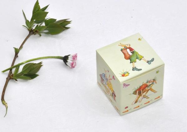 Ostern - Geschenkschachtel / Würfelbox