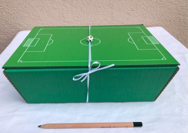 Fußball - Geschenkschachtel - Präsent