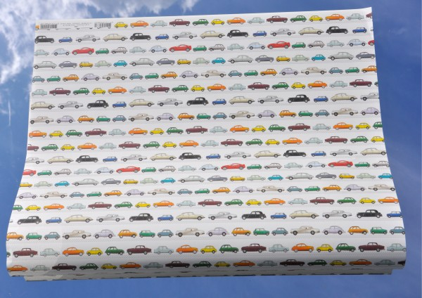 Autos - Geschenkpapier