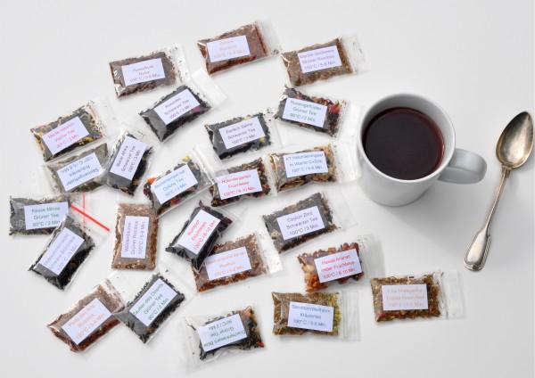 24 Sorten VEGANER Tee je 1 Tasse