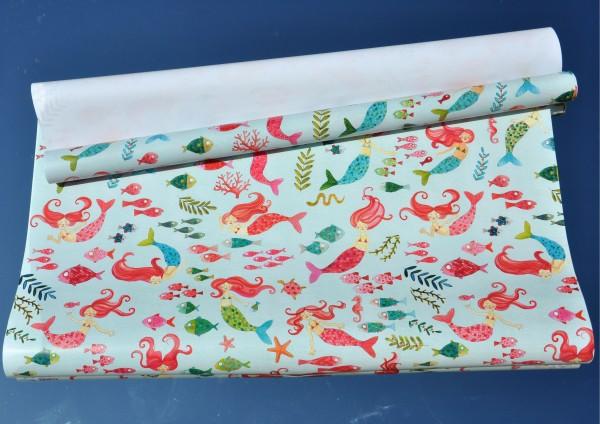 Meerjungfrau - Geschenkpapier