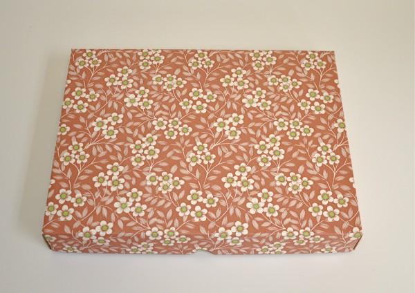 Kirschblüte - Geschenkschachtel mit Deckel